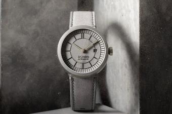 Kőkemény lehetsz ezzel a minimalista, betonból készült karórával