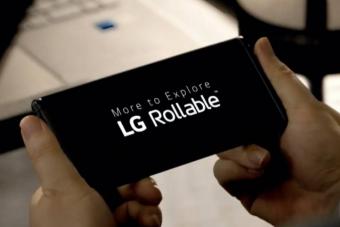 Feltekerhető óriásmobilt dob piacra az LG