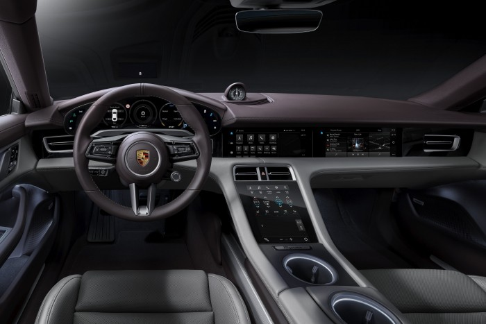 Porsche Taycan's range expands 3