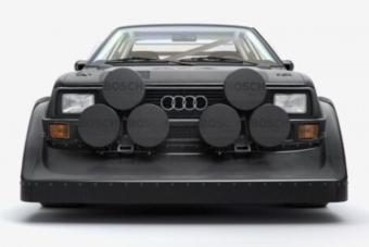 Nem kicsit lett volna menő a B-csoportos Audi Quattro S1 matt feketében