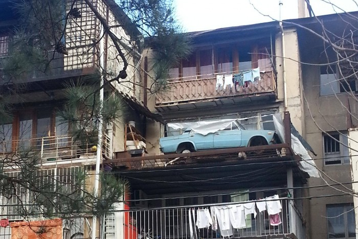 Unconscious of what these Russian balconies hide 8