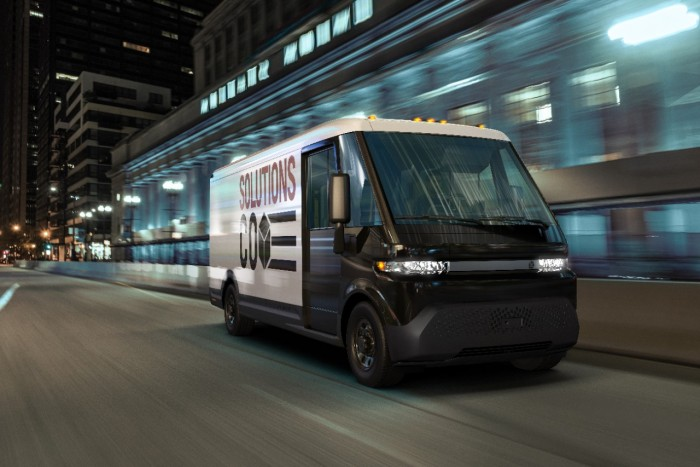 General Motors is also developing an electric van 2