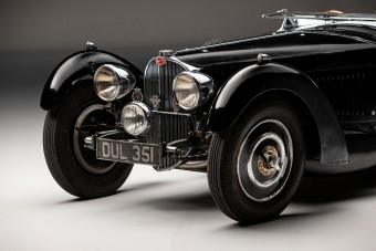 50 évig rejtegették a háború előtti leggyorsabb autót
