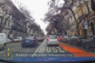 Újra lecsaptak a pesti rendőrök a buszsávhuszárokra 1