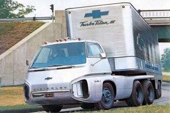 Így képzelte el egykoron a Chevrolet a jövő kamionját