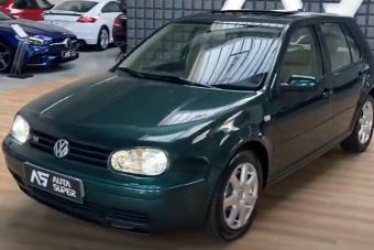 Az unalmas használt Volkswagen Golfok között ez egy igazi gyöngyszem