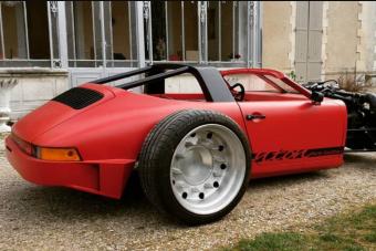 Porsche váz, Bentley motor, totális őrület