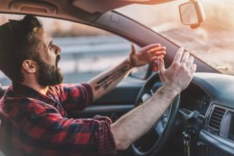 Ne ülj a volán mögé, ha így érzed magad!