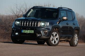 Hibrid Jeep, nemcsak városi dágványba - Jeep Renegade 4xe Limited