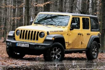 Csinos is, ügyes is, de inni is nagyon tud - Jeep Wrangler benzinmotorral