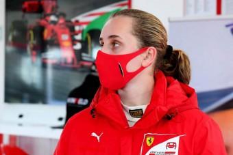 F1: Szenzáció, nőt szerződtetett a Ferrari