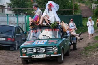 Ezektől az orosz esküvői fotóktól sokkal inkább válni van kedvünk, mint házasodni