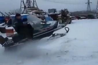 Befutott 2021 eddigi legfájdalmasabb téli videója