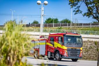 Teljesen megújultak a Volvo tűzoltóautói