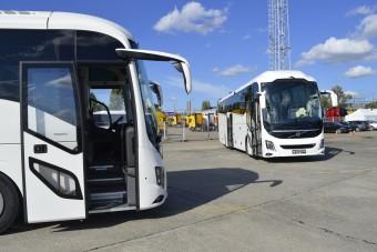 Magyar alkatrészekkel készülnek a Volvo turistabuszai