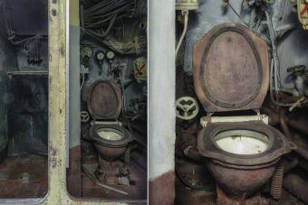 Így néz ki belül egy elhagyott orosz tengeralattjáró