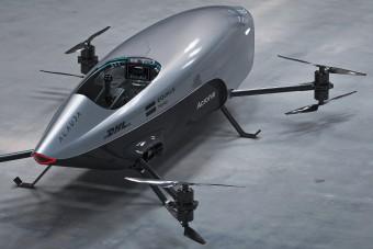 Elkészült a világ első repülő versenyautója
