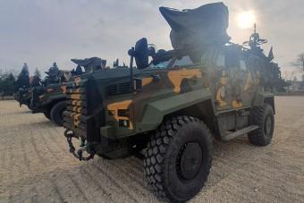 Török harci járműveket kapott a Magyar Honvédség
