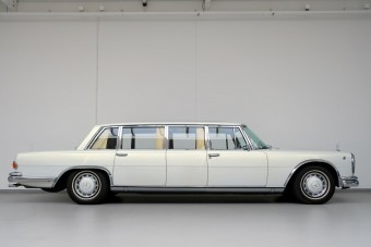 Olajsejkek, diktátorok kedvence volt ez a Mercedes limuzin