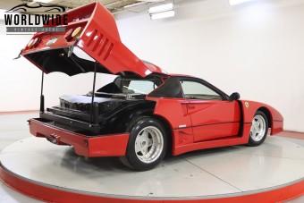 Ilyen Ferrari F40-est lehet kapni 7,4 millió forintért