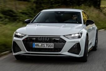 Ezért jó a Quattro, az új Audi RS7 téli fagyban is brutálisan gyorsul