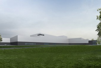 Már épül a Mercedes új présüzeme Kecskeméten