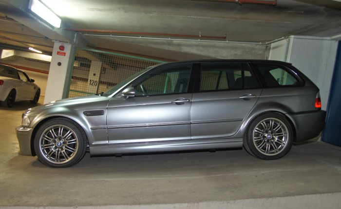 Here is the BMW M5 CS station wagon, thanks to a young Hungarian man 5