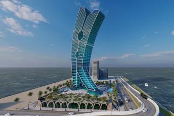 Egy csipesz lehet Dubaj legújabb látványossága