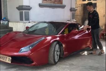 Itt egy olcsó Ferrari, amit úgy kell berántani, mint a fűnyírót
