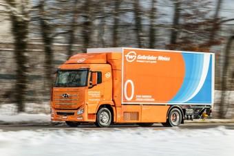 Hidrogén teherautót kaphatnak a sógorok