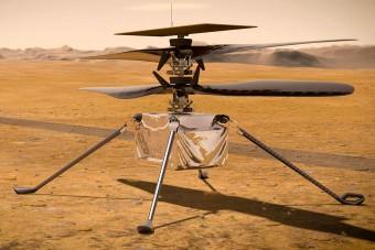 Súlyos hiba lépett fel a NASA marsi helikopterével