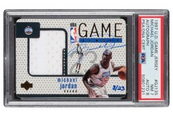 Rekordot döntött egy Michael Jordan-kártya