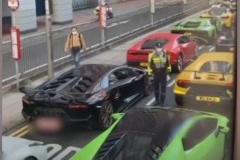 Az illegális utcai versenyek kicsit másképp néznek ki Kínában, mint itthon a Vácin