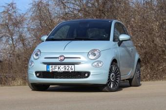 Kis lépés a bolygóért - Fiat 500 hibrid