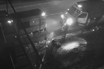 Félelmetes eseményeket rögzített az M0-son a Magyar Közút kamerája
