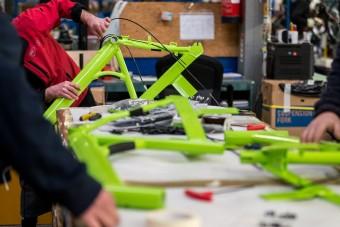 Elkészült az első megújított Bubi-kerékpár