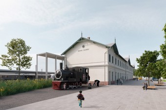 Több száz négyzetméteres vasúti terepasztalt építenek Kelenföldön