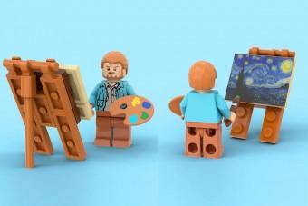 Híres festményből készül LEGO-szett