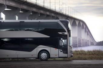 Új busszal készül a turizmus újraindulására a Volvo