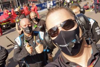 F1: Nagyon bizakodó a Williams magyar mérnöke