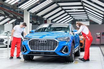 A járvány alatt is sok pénzt termelt a győri Audi