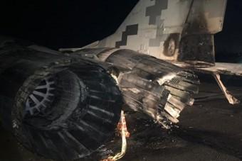 MiG-29-es vadászgép és autó ütközött Ukrajnában