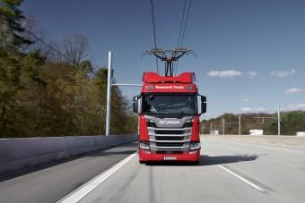 Újabb áramszedős kamionokat állítanak forgalomba
