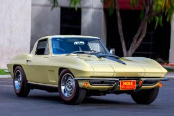 Dollármilliókért adtak túl a ritka Corvette-en