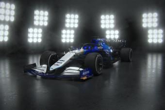 Sokkolt új festésével az F1 sereghajtója