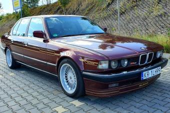 Ez az Alpina B11 a tökéletes nagy öreg BMW hosszú utakhoz