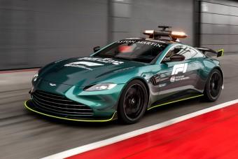 Ilyen lesz az F1 új biztonsági autója