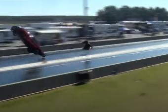 Durva, hogy elszállt ez a Camaro, de még durvább, ahogy landolt