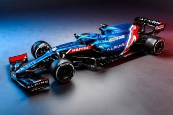 Ezzel az autóval tér vissza Alonso a Forma-1-be