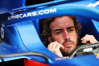 F1: Világbajnoki figyelmeztetést kapott Alonso